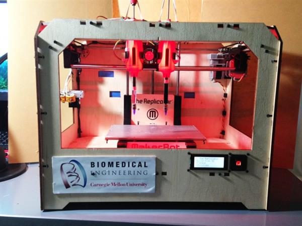 hacked makerbot used to 3d bioprint for breast cancer research