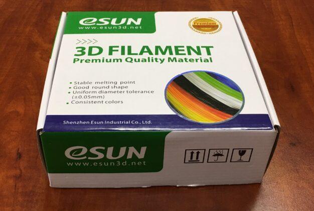 eSun 3D Printer filament images